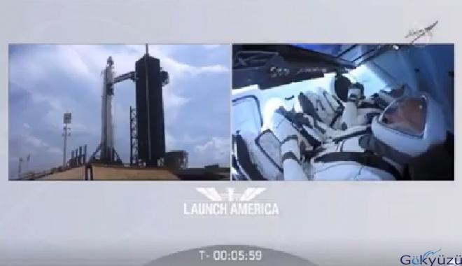 video Ertelenen uzay yolculuğu başlıyor