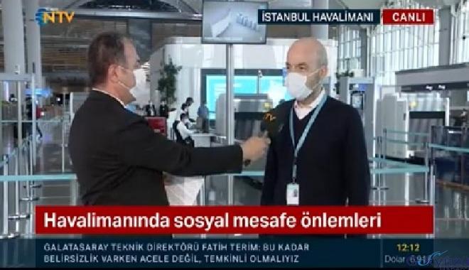 video İstanbul Havalimanı yeni normale hazır