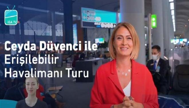 video#Engelli dostu İstanbul Havalimanı
