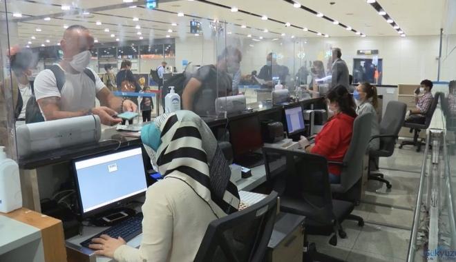 video#Sabiha Gökçen'de 'PCR' testi sonucu 1,5 saatte çıkıyor