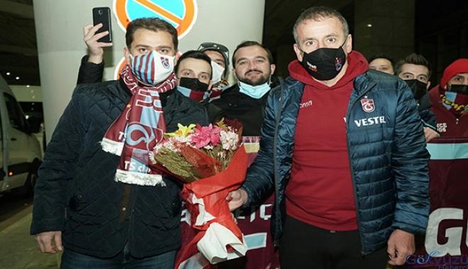 (video)Trabzonspor, Ankara'ya gitti