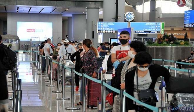 Yabancı uyruklu yolcular ülkelerine dönüyor