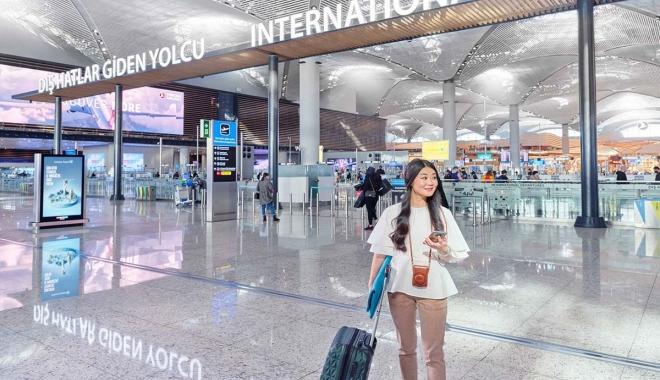 Yedi ayda 57 milyon yolcu hava yolu ile seyahat etti