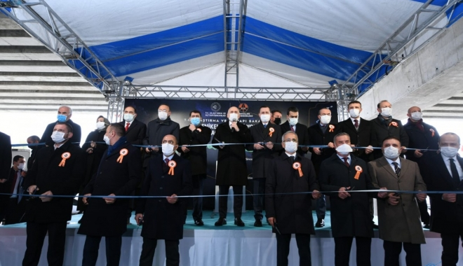 Yenikent-Temelli Yolu Açılış Töreni(video)