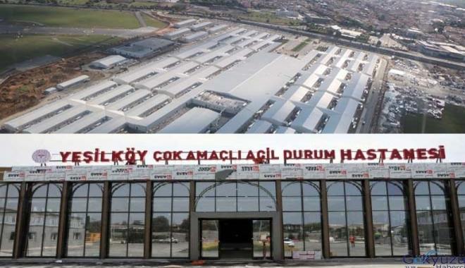 Yeşilköy'deki acil durum hastanesi 31 Mayıs'ta açılacak