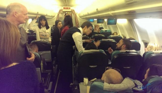 Yolcular kalkış öncesi 4 saat uçakta bekledi!