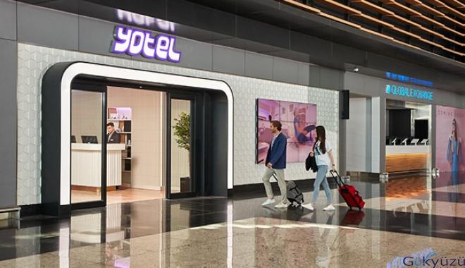YOTEL, İstanbul Havalimanı'nda konforun adresi
