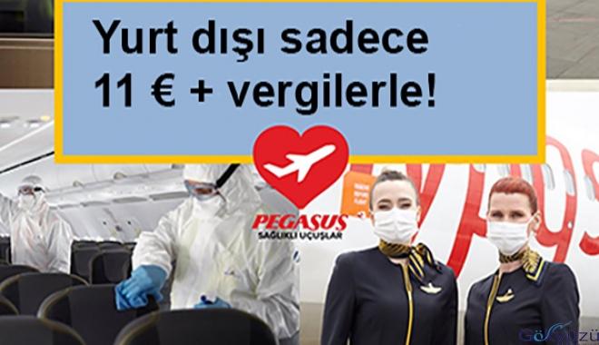 Yurt dışı sadece 11 € + vergilerle!