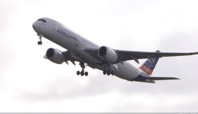 % 100 SAF ile beslenen bir A350 az önce havalandı(video)
