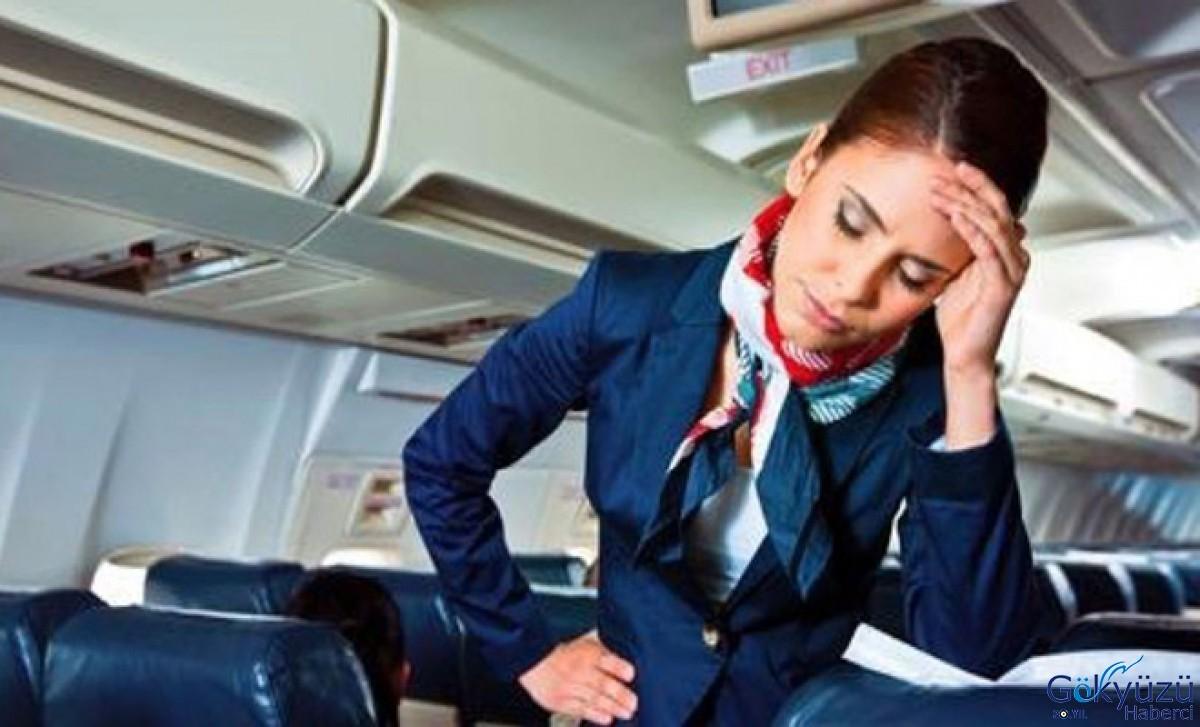 الطيارين وطاقم المقصورة من مشاكل الإجهاد