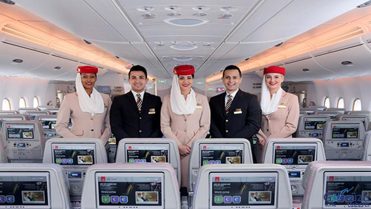 2019 Kabinenbesatzung im Emirates Becomes Welt beste!