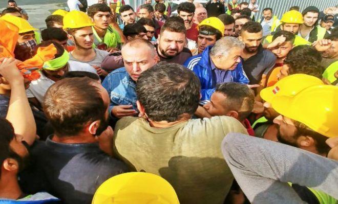 3. Havalimanı işçileri taleplerini söyledi