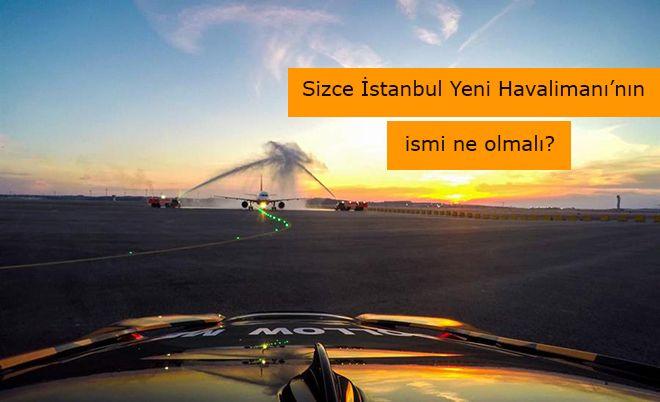 3. Havalimanı ismi için imza kampanyası başladı!