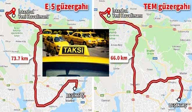 3. Havalimanı'na bir tepki de taksicilerden!
