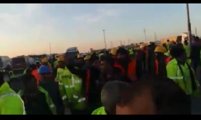 3. Havalimanı'nda işçilerin maaşları ödenmiyor!video