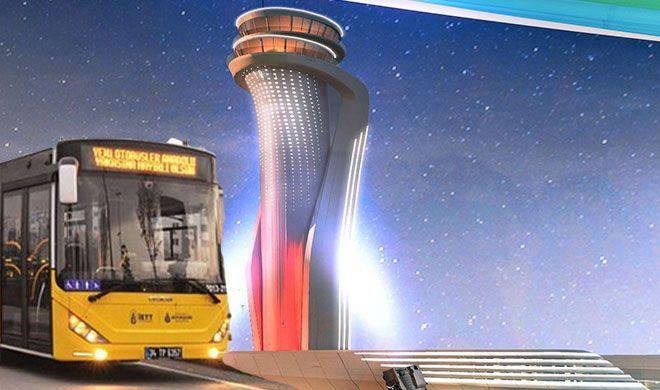 3.Havalimanı'na giden vatandaşa İETT ücretsiz!