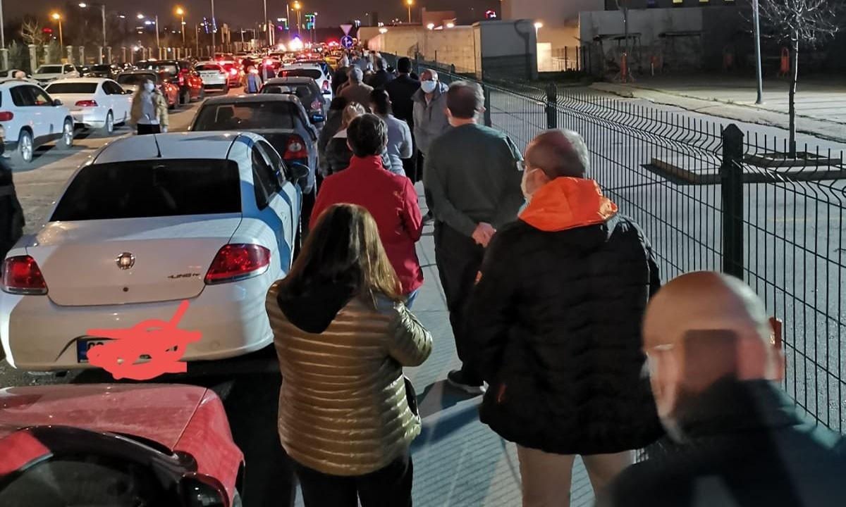 55 yaş üzerindeki Ankaralılar aşı sırasına girdi