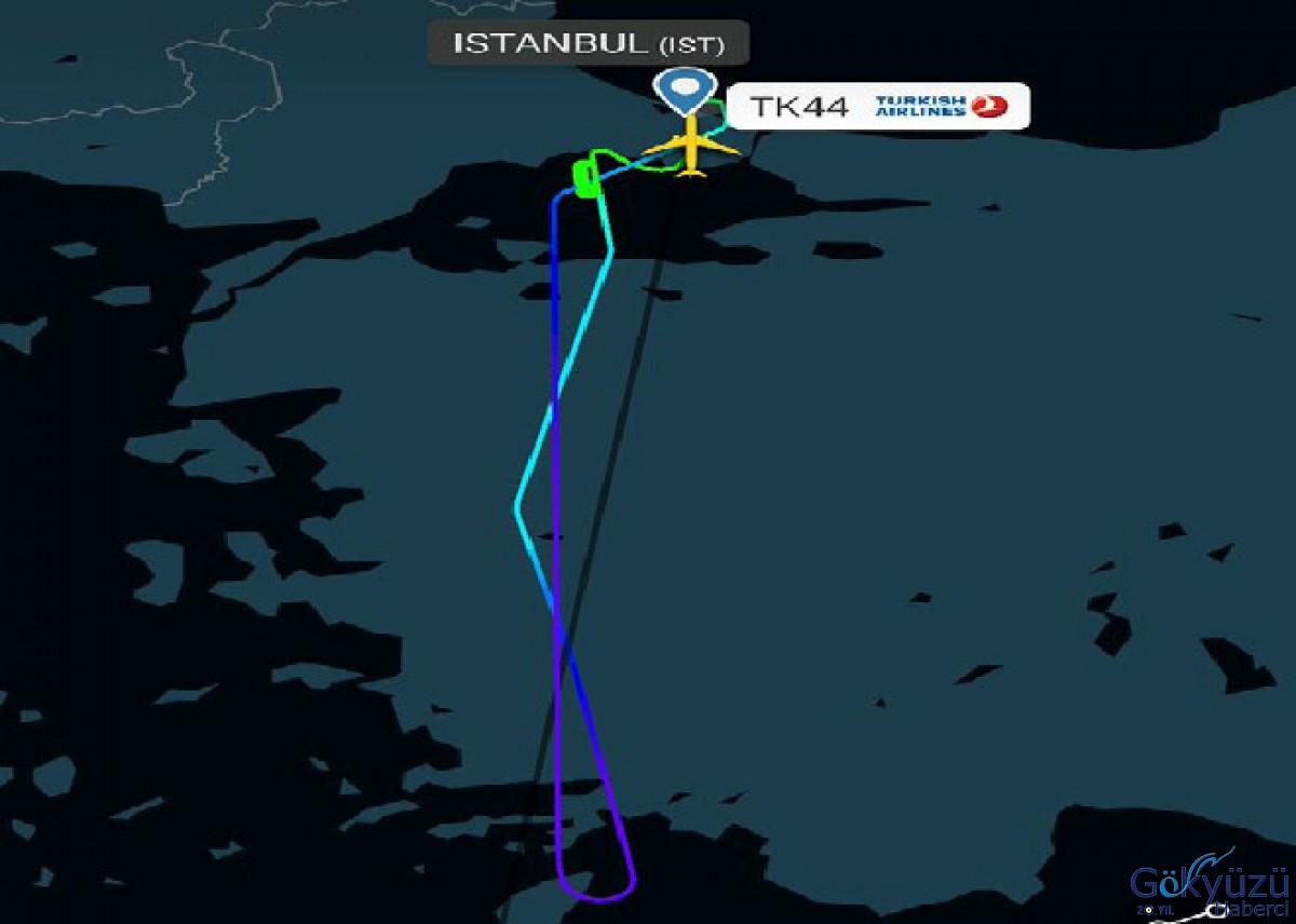 7 saat 10 dakikada İstanbul Havalimanı'na indi!