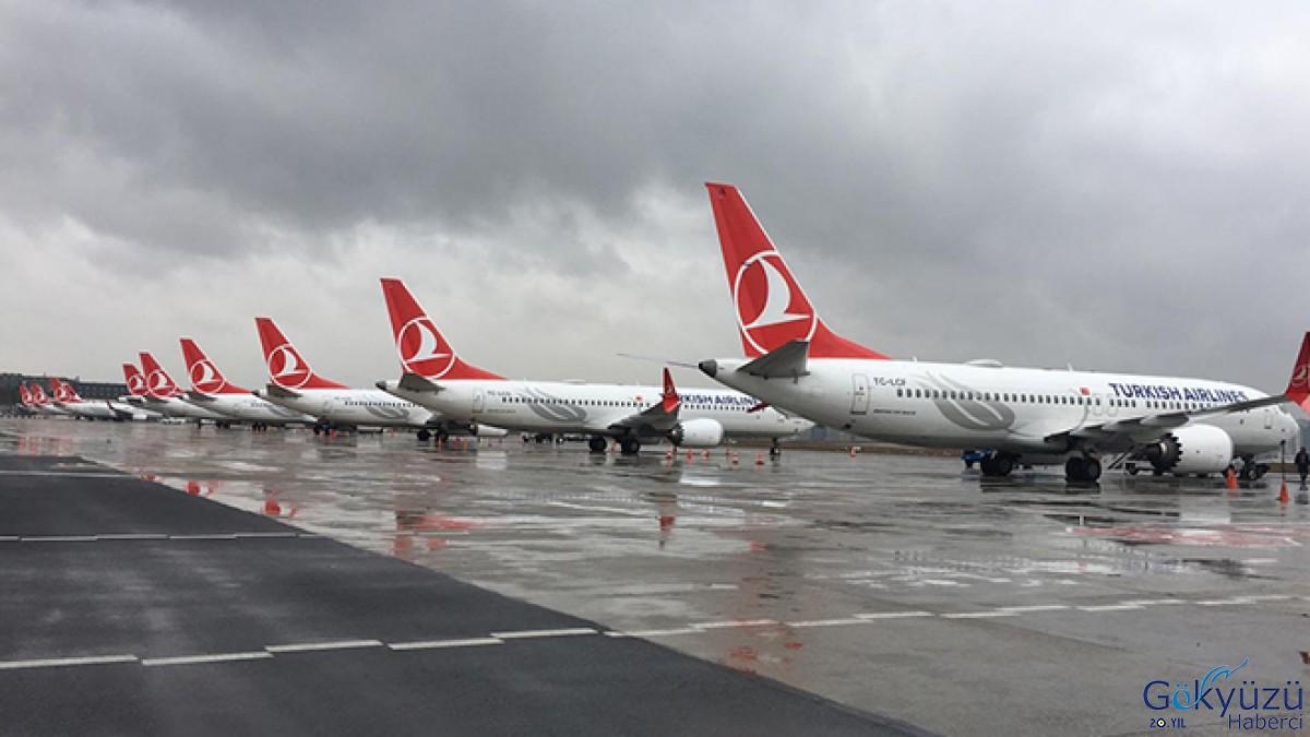 737 MAX'ler yerde THY de çok ciddi zarar etti!