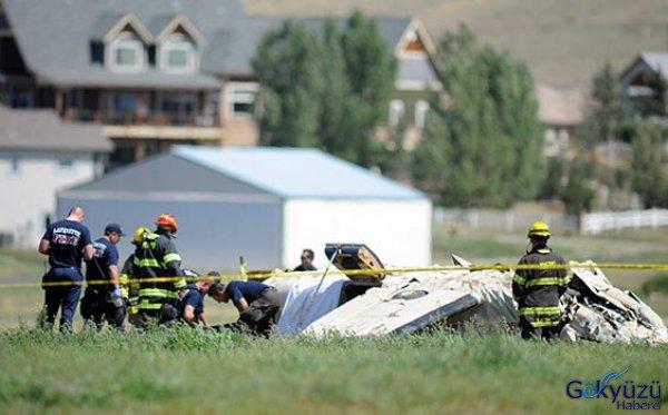 ABD'de Uçak Kazası 5 Ölü!