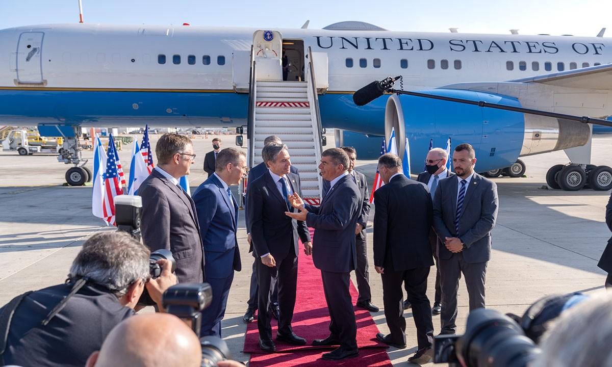 ABD Dışişleri Bakanı Blinken Tel Aviv'de