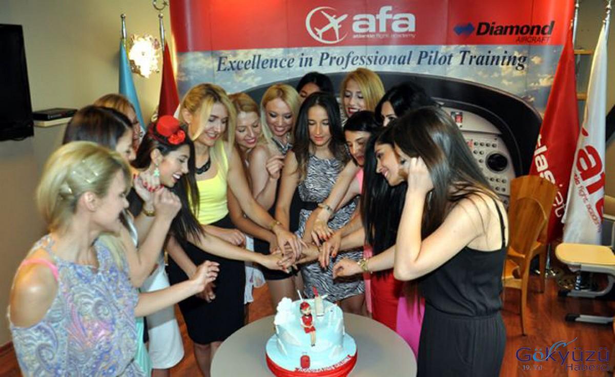 AFA hostes eğitimine başlıyor!