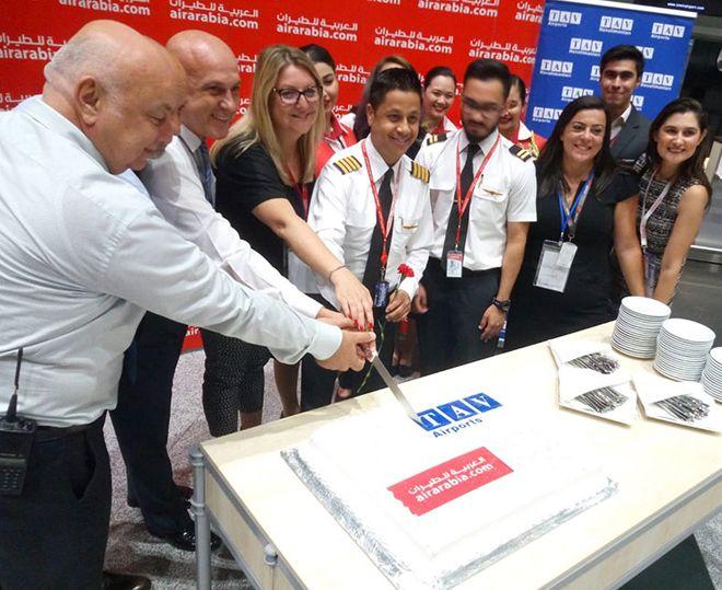 Air Arabia İzmir'e ilk uçuşunu yaptı!