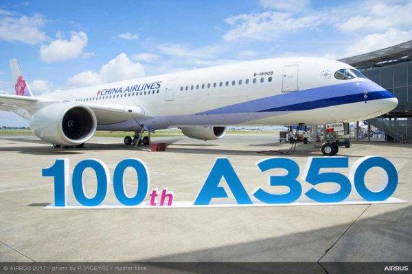 Airbus 100. A350 XWB Uçağını Teslim Ediyor