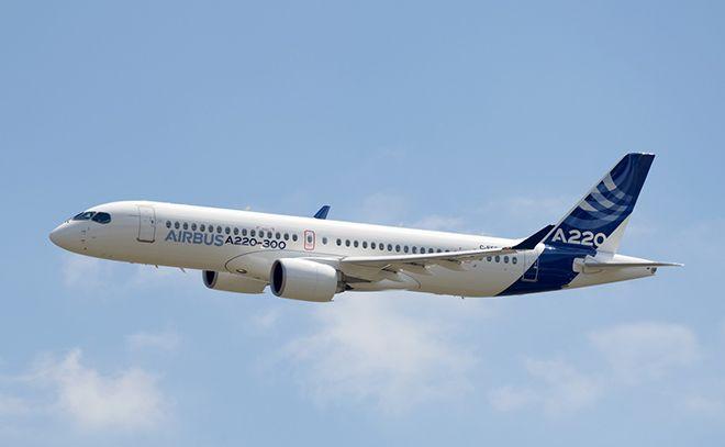 Airbus yeni uçağı A 220'yi tanıttı!