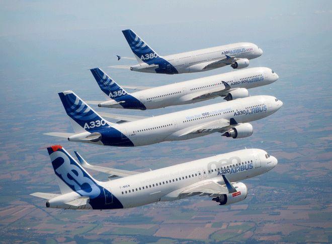 Airbus'tan 2017 Yılında Rekor Sayıda Teslimat