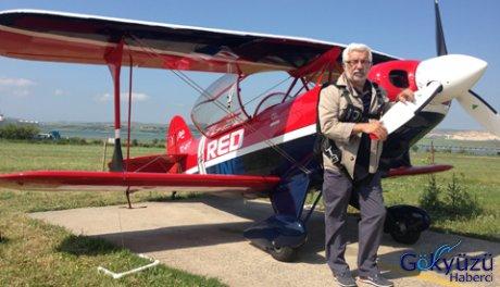 Akrobasi pilotu Öztürk, Redline ile göklere havalandı
