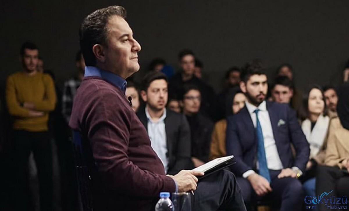 Ali Babacan: gençlerden kabine kursak Türkiye daha iyi yönetilir