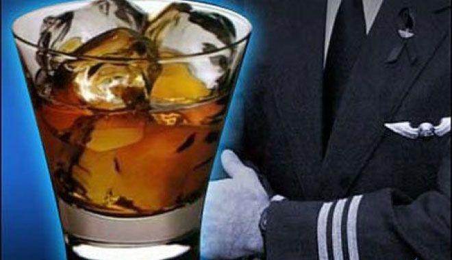 Alkollü pilot tutuklandı!