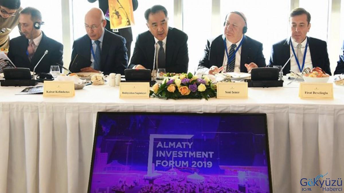 Almatı Havalimanı TAV'a satıldı