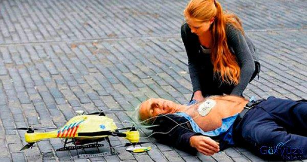Ambulans İHA Hayat Kurtaracak