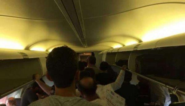 Anadolujet Uçağında Korku Dolu Bir Saat