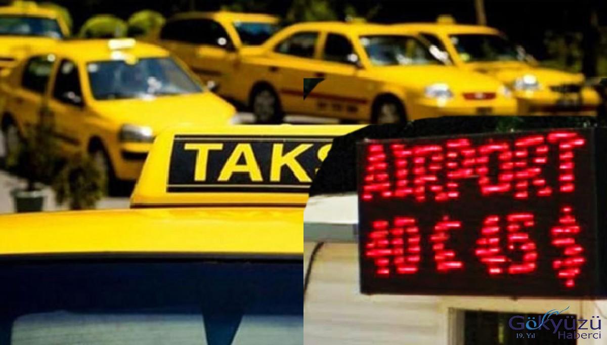 Antalya'da taksimetre yok ücret sabit!