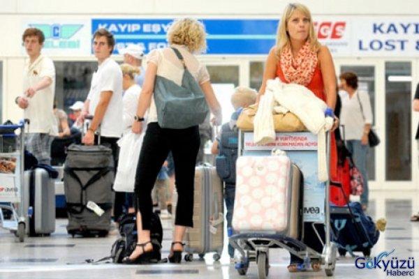 Antalya'ya Havadan 8.6 Milyon Turist