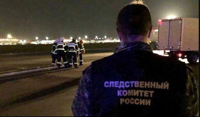 Apronda kadın yolcuyu uçak ezdi