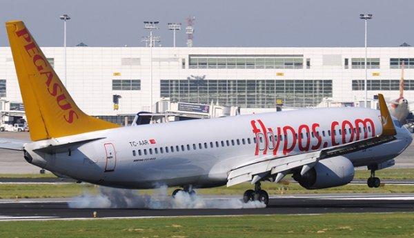 Arızalanan Pegasus Havayolları uçağı İzmir'e indi