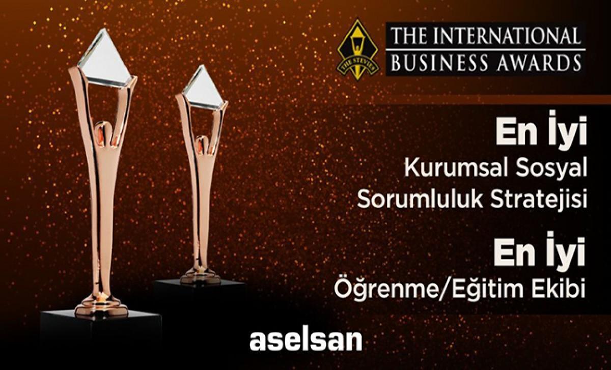 ASELSAN'a uluslararası arenada ödül