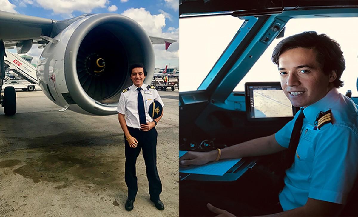 Askeri disiplinle 'yontularak' pilot oldu!