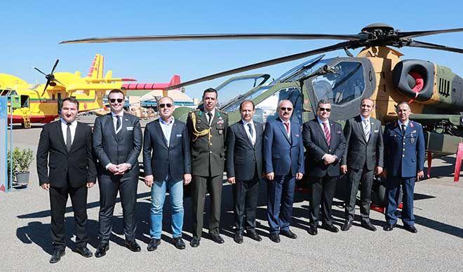 Atak helikopteri Marakeş'te şov yaptı!