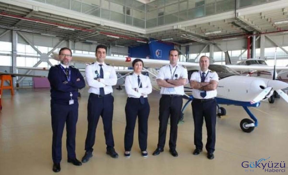 Atılım Üniversitesi'nde pilot adayları yetişiyor