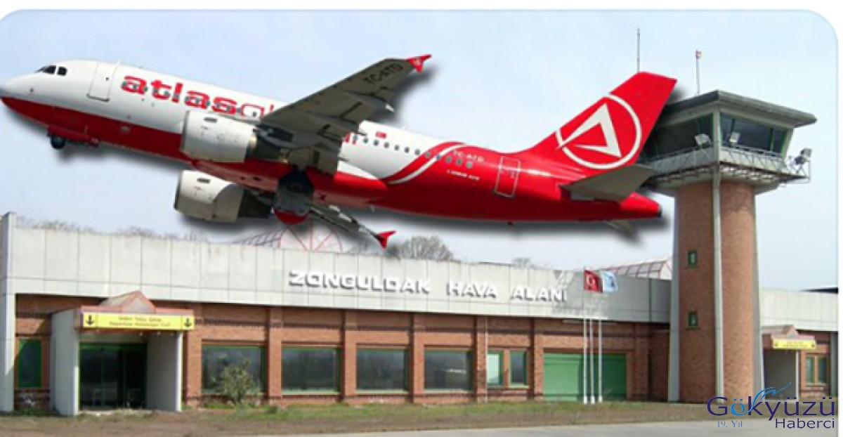 AtlasGlobal Almanya'dan Zonguldak'a uçacak!