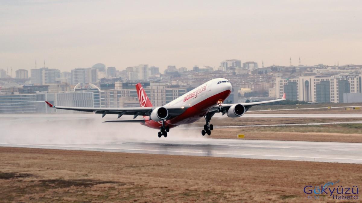 Atlasglobal Kazakistan seferleri A330 ile yapılacak!