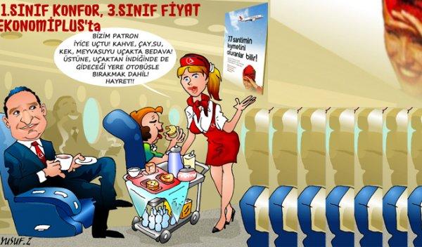 Atlasglobal İle Uçun 1. Sınıf Konfor ve 3. Sınıf Fiyat