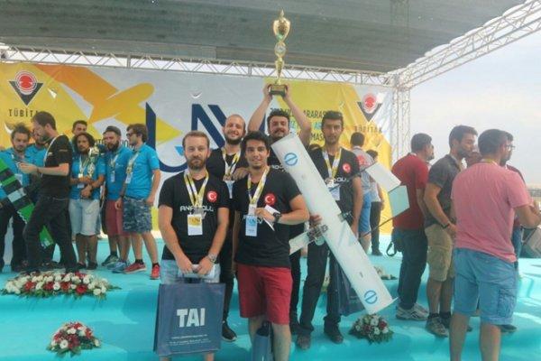 AÜ'ye, İHA Yarışmasında İki Ödül Birden