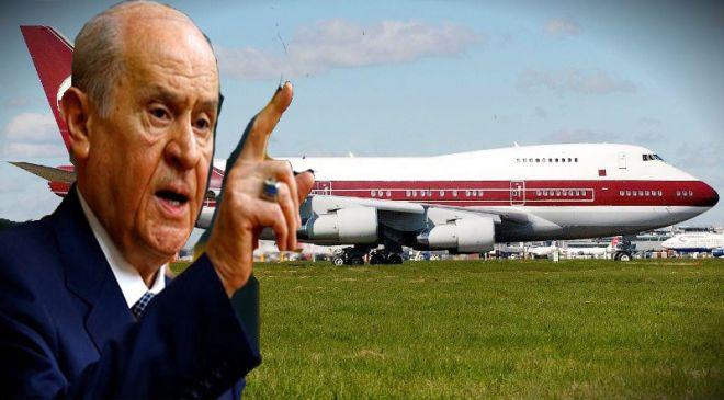 Bahçeli: VIP uçak kabul edilmemeliydi!