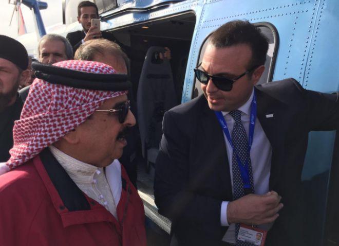 Bahreyn Kralından Türk Helikopterine özel ilgi